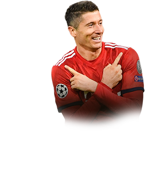 LEWANDOWSKI FIFA 19 Champions League TOTT