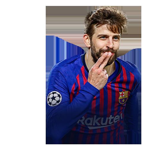PIQUÉ FIFA 19 Champions League Live