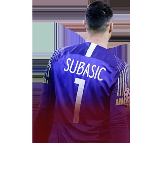 Subašić FIFA 19 FUTmas