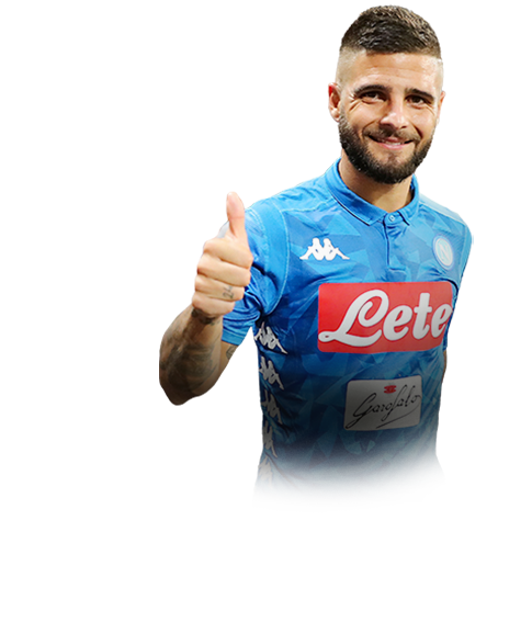 INSIGNE FIFA 19 Team of the Week Gold