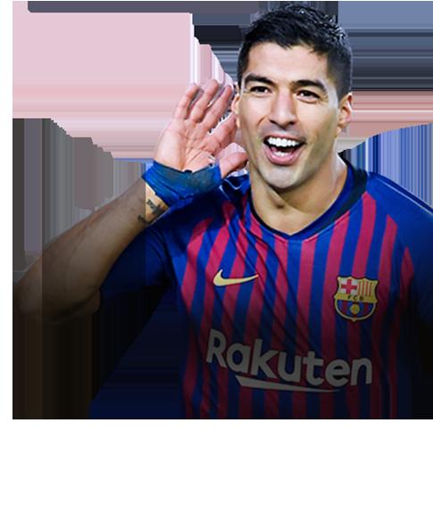 Suárez FIFA 19 FUT Champions Gold