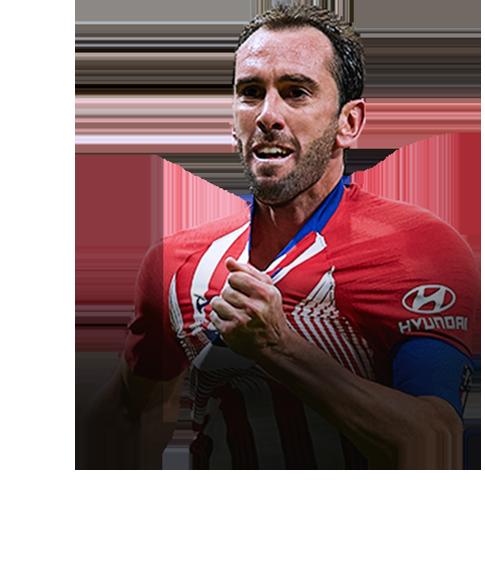 Godín FIFA 19 FUT Champions Gold