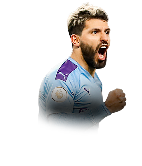 AGÜERO FIFA 20 Team of the Week Gold