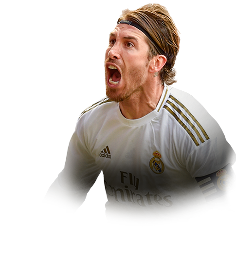RAMOS FIFA 20 Team of the Week Gold