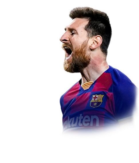 Messi FIFA 20 Champions League TOTT