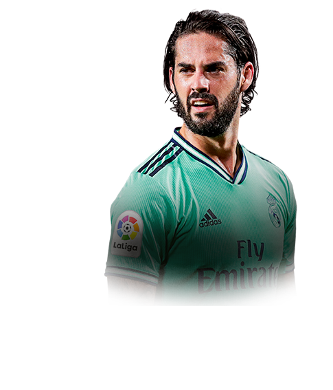 ISCO FIFA 20 Team of the Week Gold