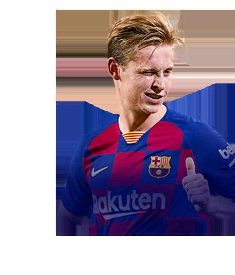 DE JONG FIFA 20 TOTY Nominees