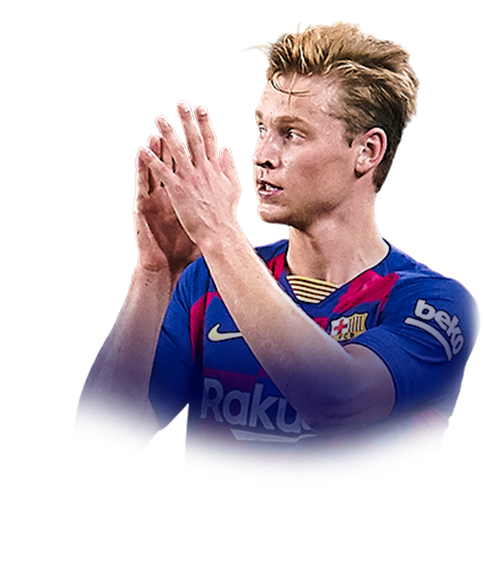 DE JONG FIFA 20 Team of the Year