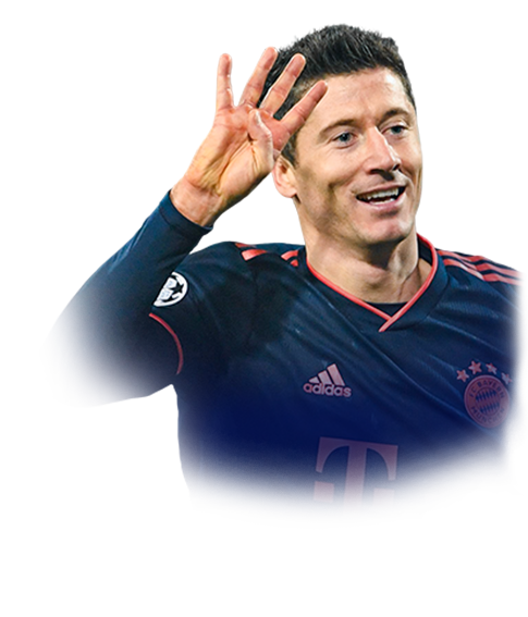 LEWANDOWSKI FIFA 20 Champions League TOTT