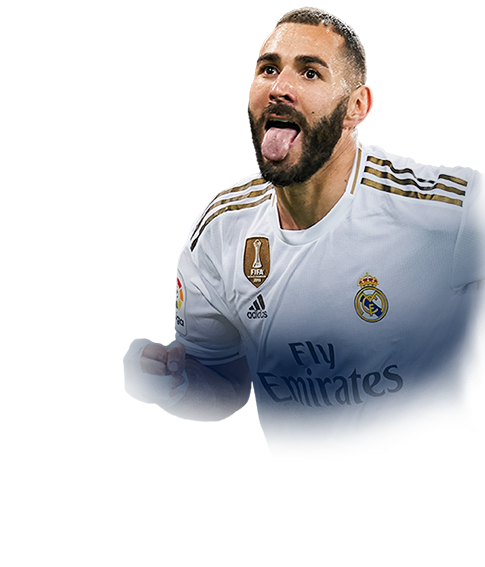 BENZEMA FIFA 20 Team of the Season Gold
