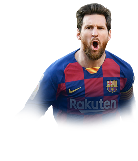 MESSI FIFA 20 Team of the Season Gold