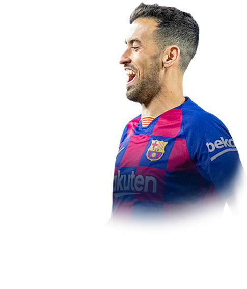 BUSQUETS FIFA 20 Team of the Season Gold