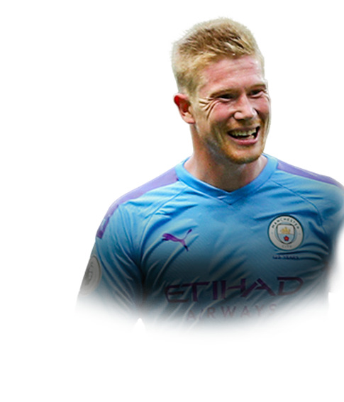 DE BRUYNE FIFA 20 Team of the Week Gold
