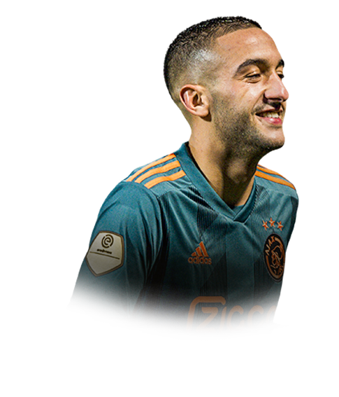 ZIYECH FIFA 20 Team of the Week Gold