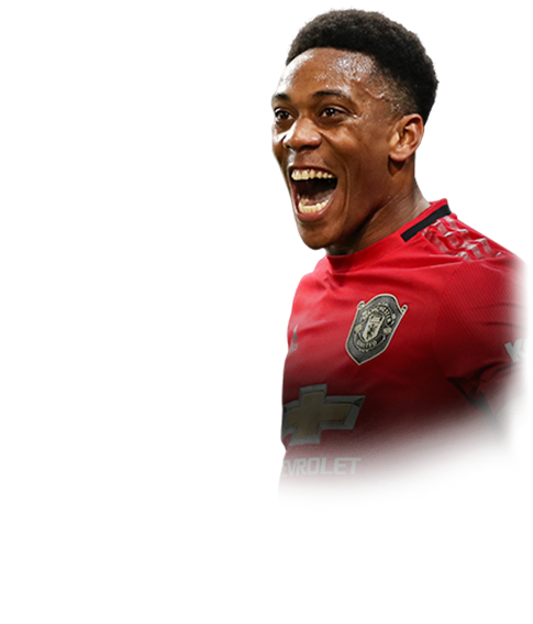MARTIAL FIFA 20 Team of the Week Gold
