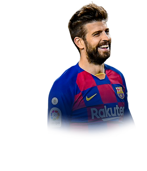 PIQUÉ FIFA 20 Team of the Season Gold